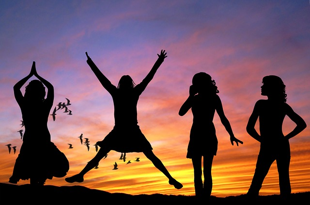 women sunset - Intimatepower.com